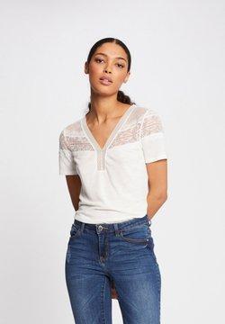 Morgan - DIETER - T-Shirt basic - off-white