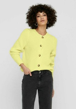 ONLY - Cardigan - pastel yellow