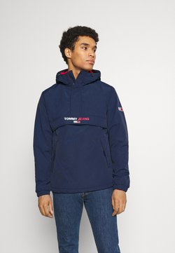 Tommy Jeans - SOLID POPOVER JACKET UNISEX - Windbreaker - twilight navy