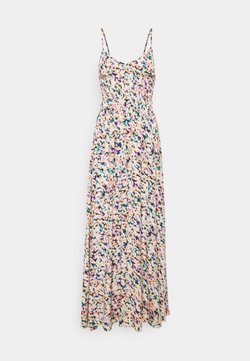 Colourful Rebel - SOPHIE AQUAREL SMOCK MAXI DRESS - Freizeitkleid - multicolor