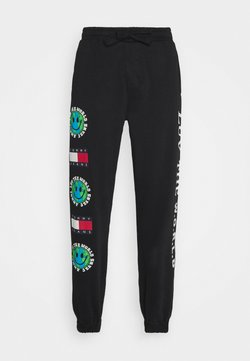 Tommy Jeans - LUV THE WORLD - Jogginghose - black
