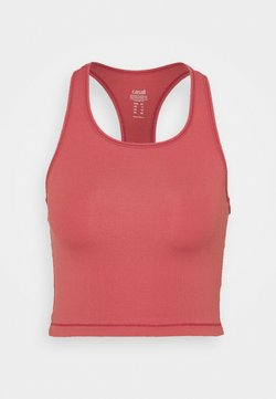 Casall - BOLD CROP TANK - Toppi - comfort pink