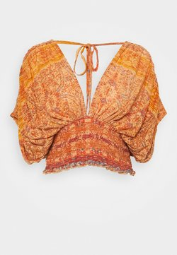 Free People - NEXT VACATION - Printtipaita - peach combo