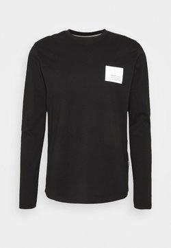 Solid - MAIKO - Topper langermet - black
