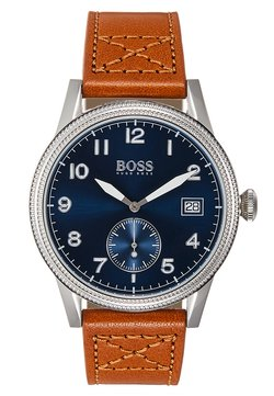 BOSS - LEGACY - Montre - cognac/blue