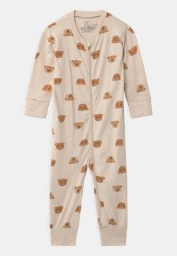 Lindex - TEDDY AT BACK UNISEX - Pyjama - light beige