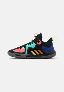 adidas Performance - HARDEN STEPBACK 2 UNISEX - Zapatillas de baloncesto - core black/yellow/active mint