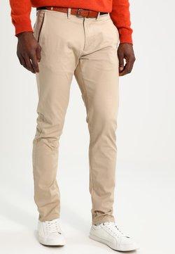 Selected Homme - SHHYARD SLIM FIT - Pantalon classique - white pepper
