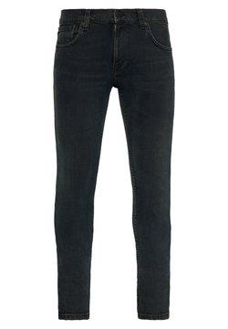 Nudie Jeans - TIGHT TERRY UNISEX - Relaxed fit jeans - black balance