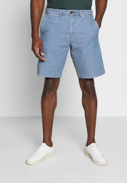 GAP - CASUAL STRETCH FLEX - Jeansshort - blue chambray