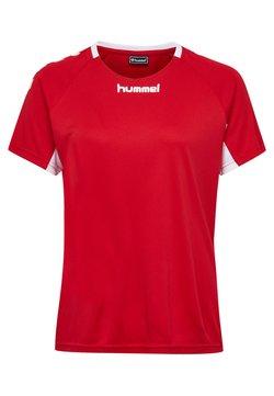 Hummel - CORE TEAM  - T-shirt print - true red