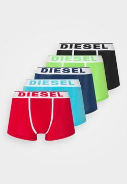 Diesel - 5 PACK - Panties - red/black/green/blue