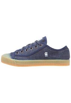 G-Star - ROVULC ROEL LOW - Sneaker low - dark navy