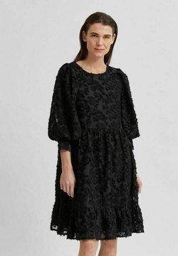 Selected Femme - SLFDANIELA DRESS - Cocktailkleid/festliches Kleid - black