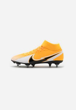 Nike Performance - MERCURIAL 7 ACADEMY SG-PRO AC - Chaussures de foot à lamelles - laser orange/black/white