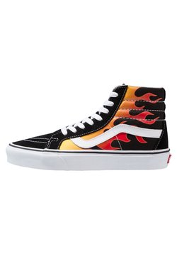 Vans - SK8-HI REISSUE - Korkeavartiset tennarit - black/true white