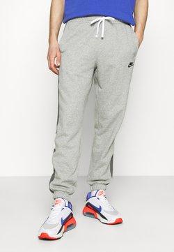 Nike Sportswear - Jogginghose - dark grey heather/charcoal heather/white/black