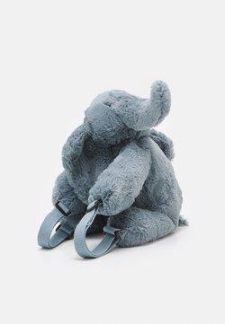 Jellycat - HUGGADY ELEPHANT BACKPACK UNISEX - Ryggsäck - blue