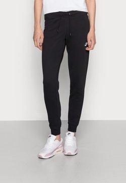 Nike Sportswear - TIGHT - Jogginghose - black/white