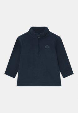 OVS - CREW NECK HALF ZIP - Fleece trui - navy blue