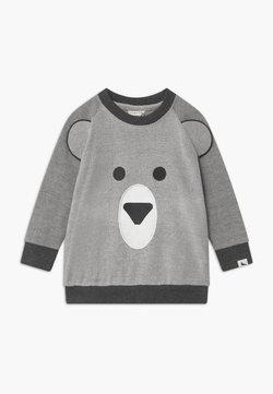 Turtledove - BEAR FACE - Sweater - dark grey/off-white
