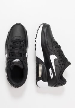 Nike Sportswear - AIR MAX 90 LTR - Sneakers laag - black/white