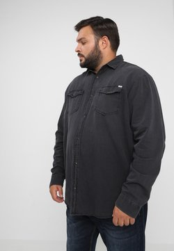 Jack & Jones - JJESHERIDAN PLUS - Koszula - black denim
