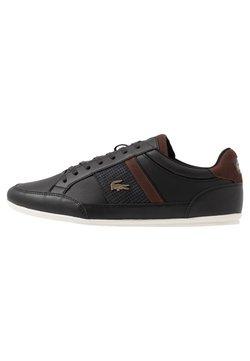 Lacoste - CHAYMON - Sneaker low - black/dark brown