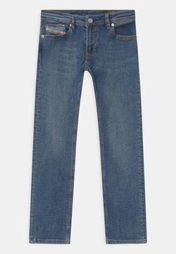 Diesel - WAYKEE UNISEX - Jeans Straight Leg - blue denim