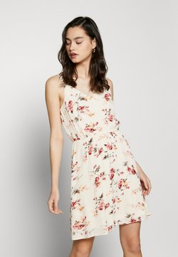 ONLY - ONLKARMEN DRESS - Vapaa-ajan mekko - creme brûlée/rose