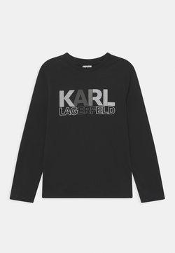 KARL LAGERFELD - LONG SLEEVE UNISEX - Långärmad tröja - black