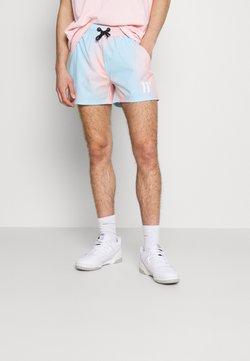 11 DEGREES - SUNBURST SUBLIMATION  - Shorts - powder blue/peach blush