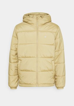 adidas Originals - PAD HOODED PUFF - Vinterjacka - beige tone