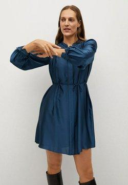 Mango - ALBANI - Blusenkleid - azul