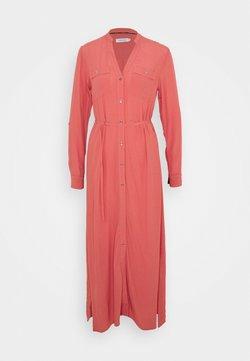 Calvin Klein - V NECK DRESS - Maxi dress - antique pink