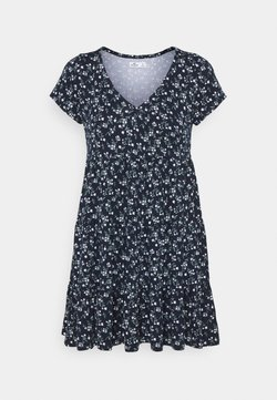 Hollister Co. - SHORT DRESS - Jerseykleid - navy
