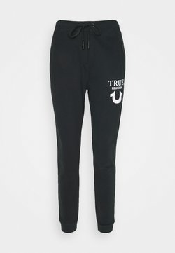 True Religion - PANT TRUE LOGO PUFFY  - Jogginghose - black