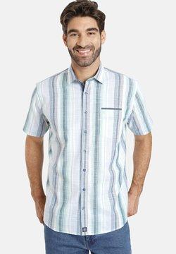Jan Vanderstorm - HOLM - Hemd - blau weiß gestreift
