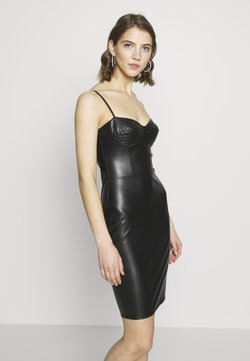 Nly by Nelly - BUSTIER DRESS - Cocktail dress / Party dress - black