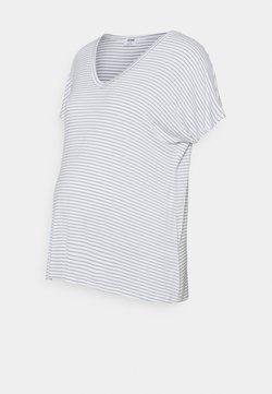 Cotton On - MATERNITY EVERYDAY KARLY SHORT SLEEVE - T-Shirt basic - white/chinois green
