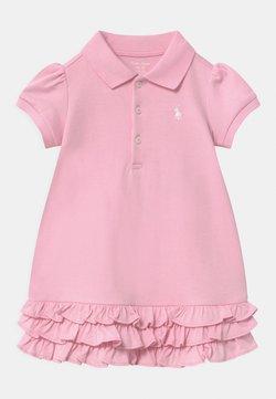 Polo Ralph Lauren - SOLID RUFFLE SET - Jerseykleid - carmel pink