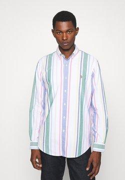 Polo Ralph Lauren - LONG SLEEVE SPORT SHIRT - Hemd - white/green/multi