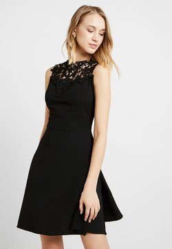 WAL G. - BUST SKATER DRESS - Juhlamekko - black