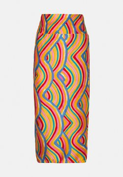 Never Fully Dressed Petite - RAINBOW SWIRL JASPRE SKIRT - Falda de tubo - multi