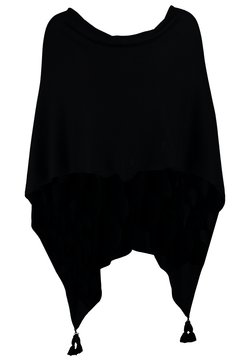 comma - PONCHO - Viitta - black