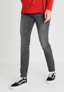 MAMALICIOUS - Slim fit jeans - medium grey denim