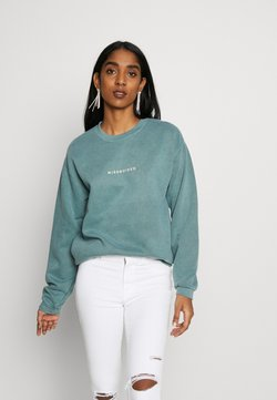 Missguided - WASHED - Sweater - green