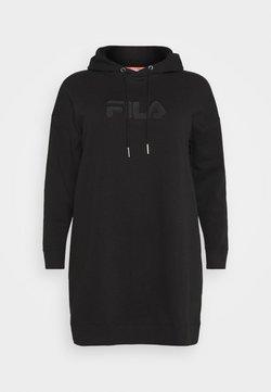 Fila Plus - TEOFILA OVERSIZED HOODY DRESS - Sukienka letnia - black