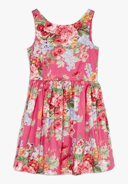 Polo Ralph Lauren - FIT DRESSES - Freizeitkleid - pink multi