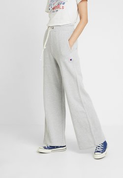 Champion Reverse Weave - WIDE LEG TROUSERS - Jogginghose - mottled grey
